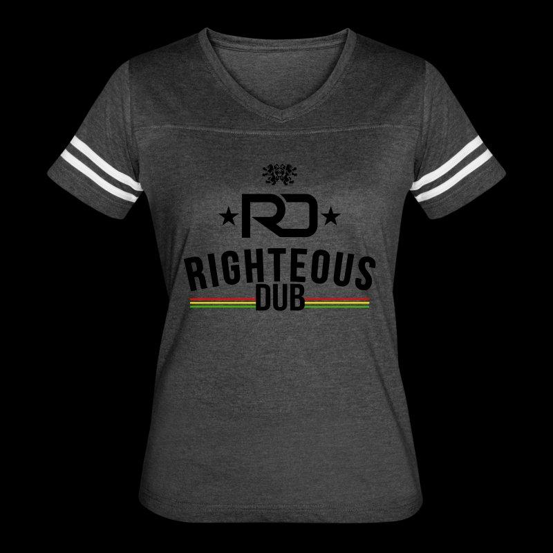 Righteous Dub Logo - Women's Vintage Sport T-Shirt