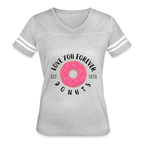 Donuts Lover - Women's Vintage Sport T-Shirt