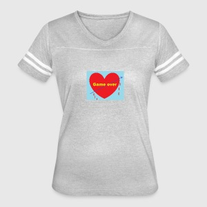 The end in love - Women's Vintage Sport T-Shirt