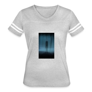 Creepy Forest Person - Women's Vintage Sport T-Shirt