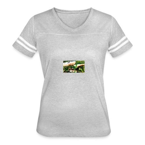 mushrooms - Women's Vintage Sport T-Shirt