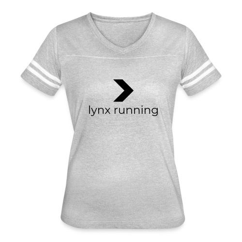 Lynx Running - Women's Vintage Sport T-Shirt