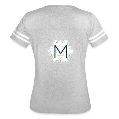 Macca's Tech Logo - Women's Vintage Sport T-Shirt