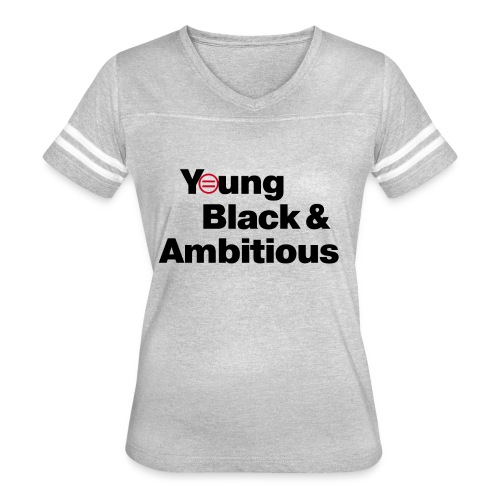 YBA white and gray shirt - Women's Vintage Sport T-Shirt