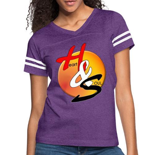 Rcahas logo gold - Women's Vintage Sports T-Shirt