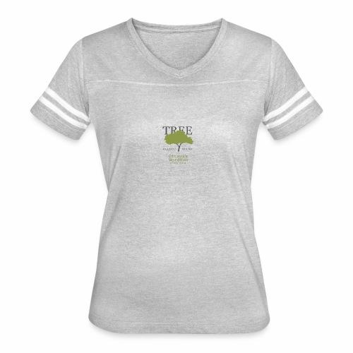 Tree Reading Swag - Women's Vintage Sport T-Shirt
