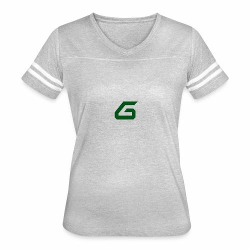 The New Era M/V Sweatshirt Logo - Green - Women's Vintage Sport T-Shirt