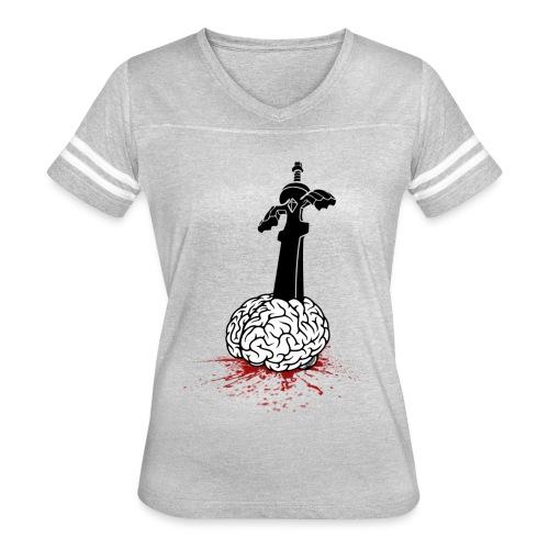 Sword in Brain - Women's Vintage Sport T-Shirt