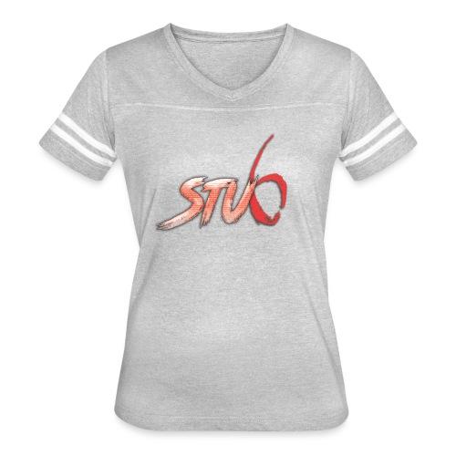 STU6 Logo T-Shirt - Women's Vintage Sport T-Shirt