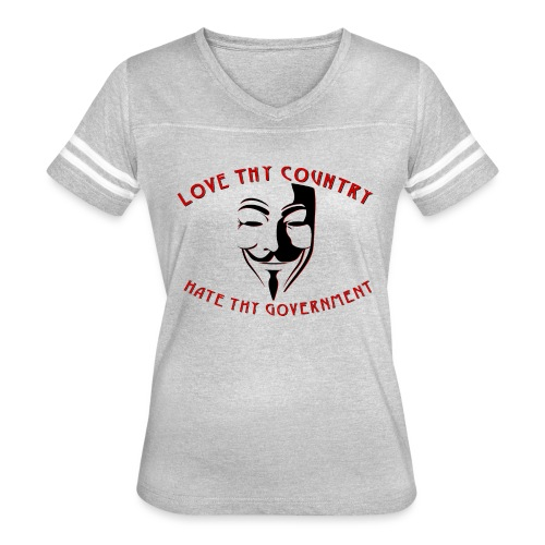 love thy country - Women's Vintage Sport T-Shirt