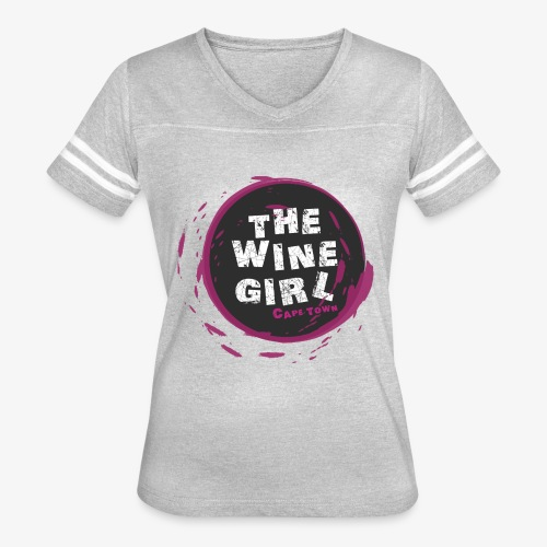 The Wine Girl - Women's Vintage Sport T-Shirt