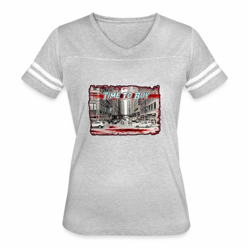 Blood in The Streets T-shirt - Women's Vintage Sport T-Shirt