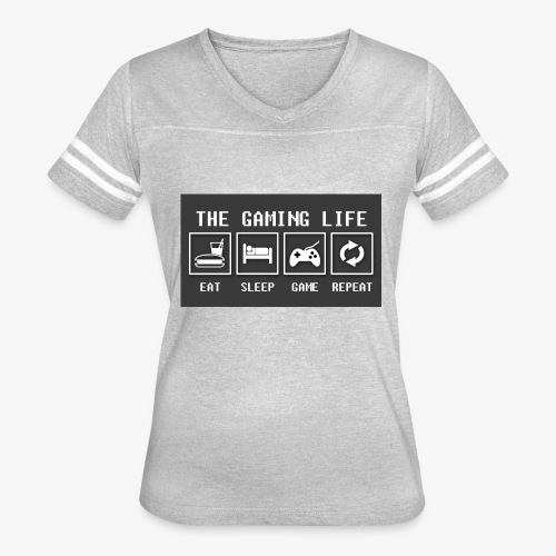 Gaming is life - Women's Vintage Sport T-Shirt