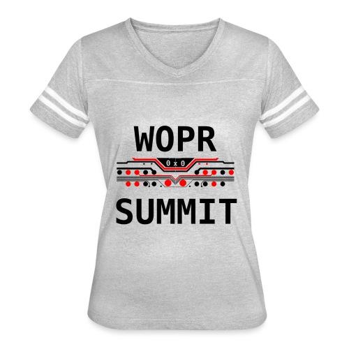 WOPR Summit 0x0 RB - Women's Vintage Sport T-Shirt