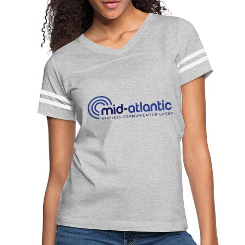 Mid Atlantic Wireless logo - Women's Vintage Sports T-Shirt