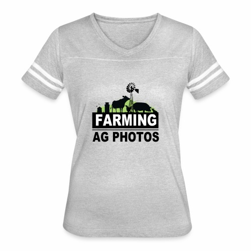 Farming Ag Photos - Women's Vintage Sport T-Shirt
