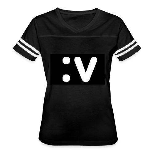 LBV side face Merch - Women's Vintage Sport T-Shirt