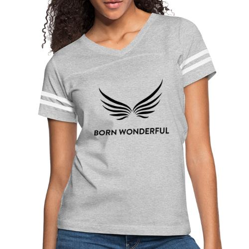Born Wonderful - Women's Vintage Sport T-Shirt