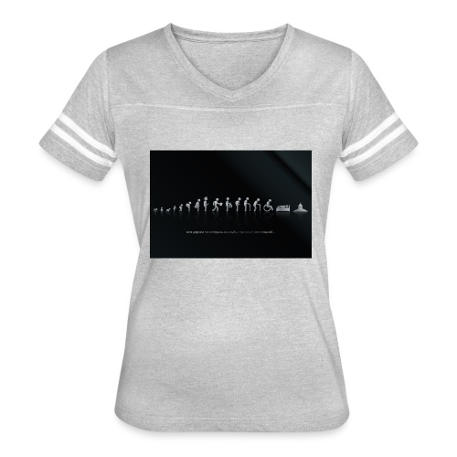 DIFFERENT STAGES OF HUMAN - Women's Vintage Sport T-Shirt