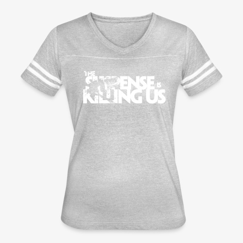 Suspense Is Killing Us White Logo - Women's Vintage Sport T-Shirt