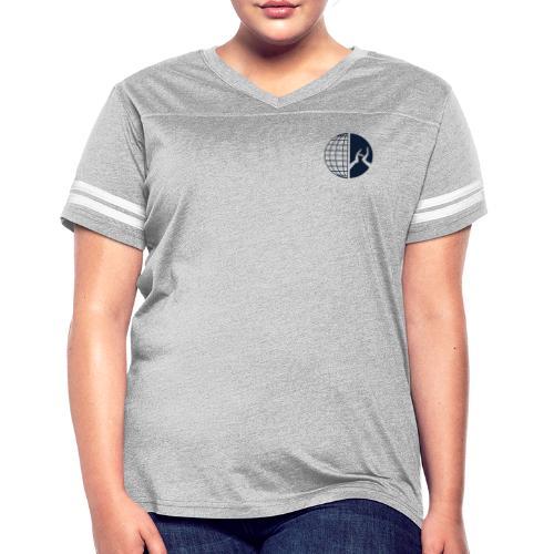 DMI Logo Dark Blue - Women's Vintage Sport T-Shirt