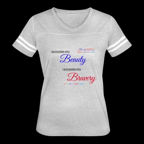 Blossom Bravery Merch - Women's Vintage Sport T-Shirt