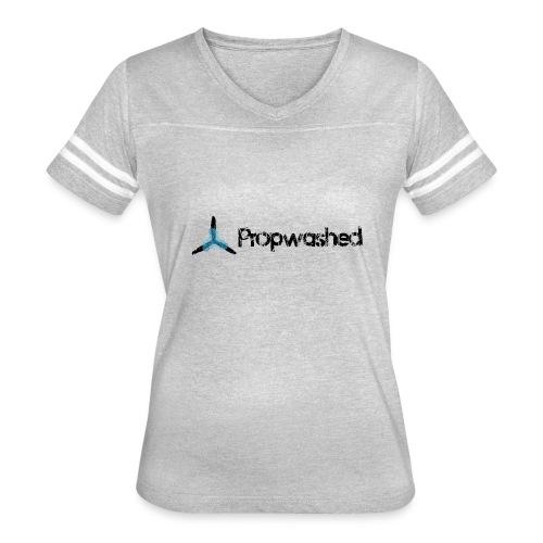 Propwashed Logo - Women's Vintage Sport T-Shirt