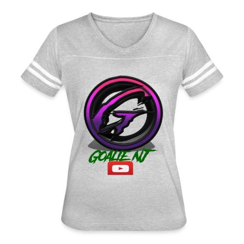 goalie nj logo - Women's Vintage Sport T-Shirt