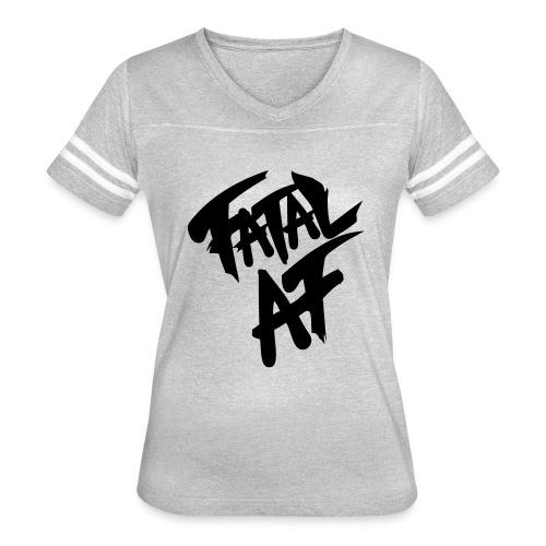 fatalaf - Women's Vintage Sports T-Shirt