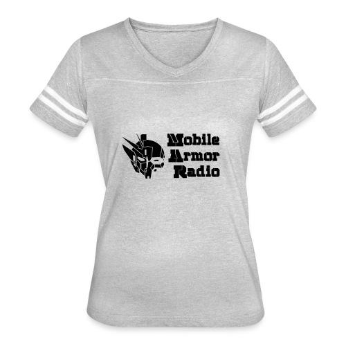 MAR1 Black - Women's Vintage Sport T-Shirt