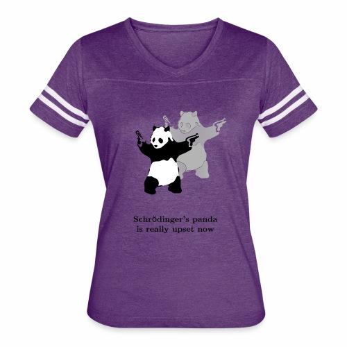 Schrödinger's panda is really upset now - Women's Vintage Sport T-Shirt