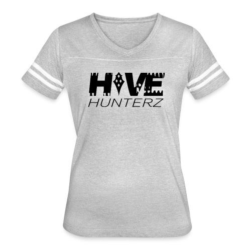 Hive Hunterz Black Logo - Women's Vintage Sport T-Shirt