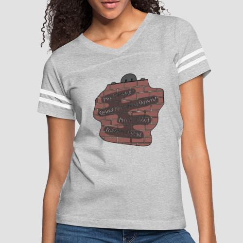 Speak Down. - Women's Vintage Sport T-Shirt