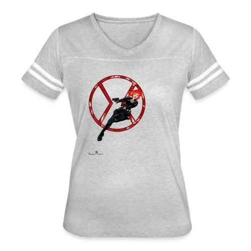 BULLETS AND BALLERINAS - Women's Vintage Sport T-Shirt