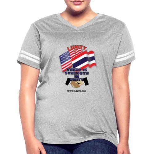Flag of ThailandE01 - Women's Vintage Sport T-Shirt