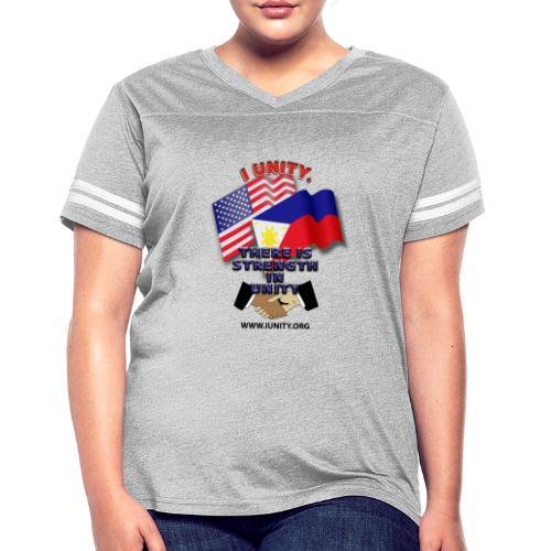 UnityPhilippinoUSA E02 - Women's Vintage Sport T-Shirt