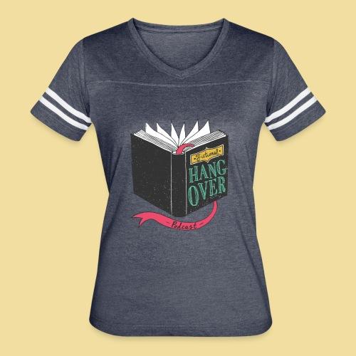 Fictional Hangover Book - Women's Vintage Sports T-Shirt