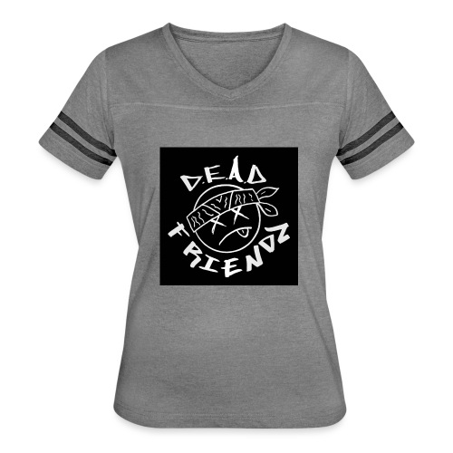 D.E.A.D FRIENDZ Records - Women's Vintage Sport T-Shirt