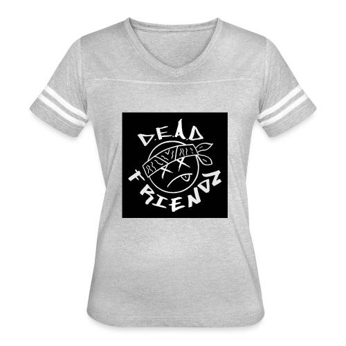 D.E.A.D FRIENDZ Records - Women's Vintage Sport T-Shirt