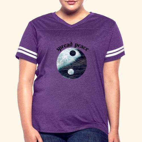 spread peace - Women's Vintage Sport T-Shirt
