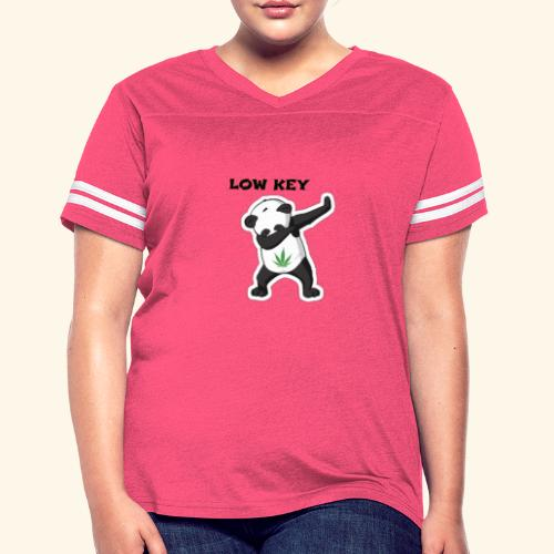 LOW KEY DAB BEAR - Women's Vintage Sport T-Shirt