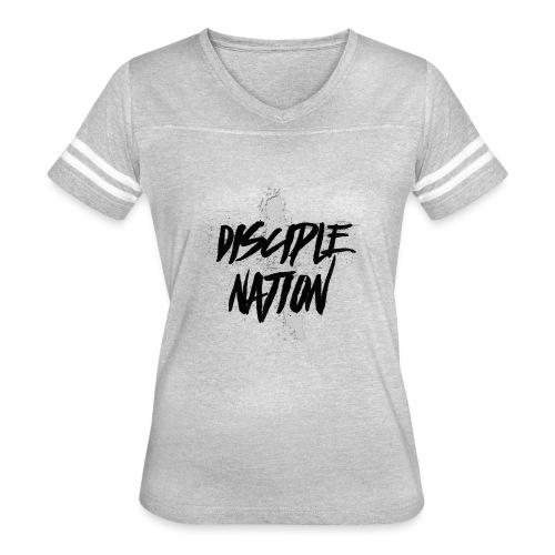 Main Design - Women's Vintage Sports T-Shirt