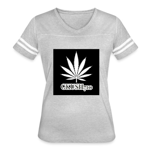 Weed Leaf Gkush710 Hoodies - Women's Vintage Sport T-Shirt