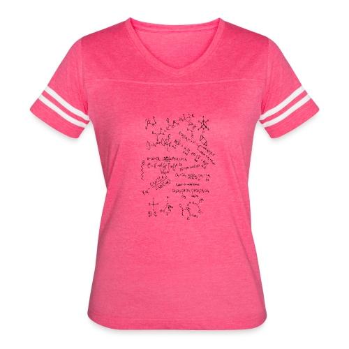 Organic chemistry first draft - Women's Vintage Sport T-Shirt