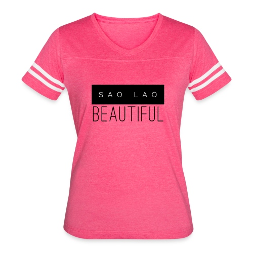 Sao Lao Beautiful - Women's Vintage Sport T-Shirt