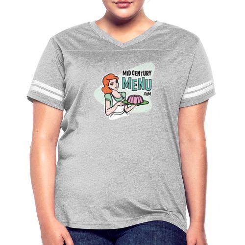 Mid-Century Menu Ruth Logo - Women's Vintage Sport T-Shirt