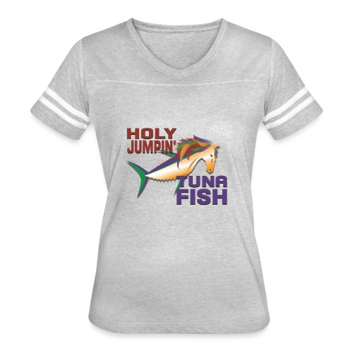 holy jumpin tuna fish - Women's Vintage Sport T-Shirt