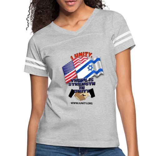 ISRAEL USA E02 - Women's Vintage Sport T-Shirt