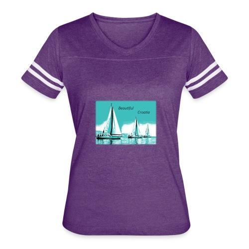 Beautiful Croatia - Women's Vintage Sport T-Shirt