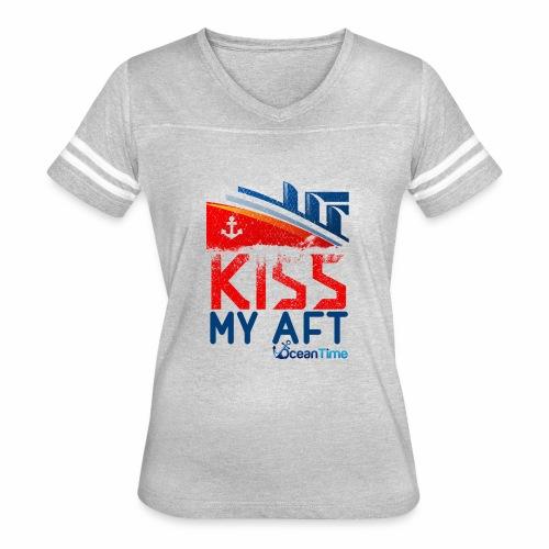 Kiss my Aft - Women's Vintage Sport T-Shirt